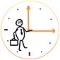 Иконка Временная занятость